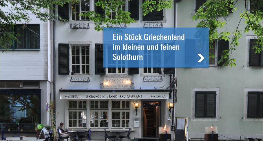 gutes gartenrestaurant solothurn